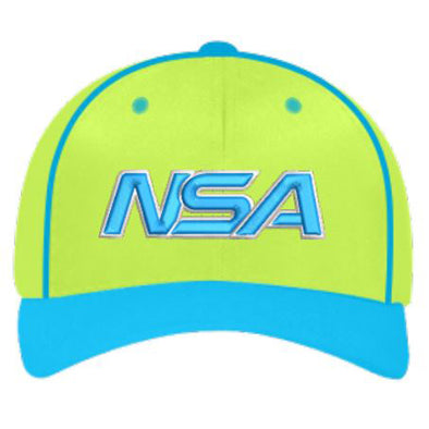 "Pacific Headwear NSA ""Earth"" Custom Flex Fit Hat: 904M-NBLNGRN"