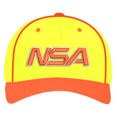 "Pacific Headwear NSA ""En Fuego"" Custom Flex Fit Hat: 904M-NORNYEL"
