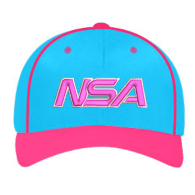 "Pacific Headwear NSA ""Cotton Candy"" Custom Flex Fit Hat: 904M-NPKNB"