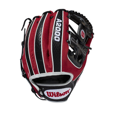 "Wilson A2000 1786 11.5"" SuperSkin & Snakeskin Baseball Glove - February 2019: WTA20RB19LEFEB"