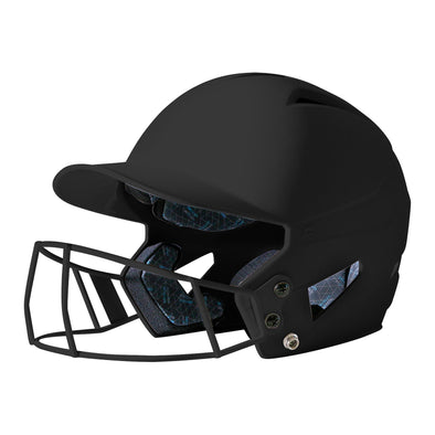 Champro HX Rise Batting Helmet with Fastpitch Mask: HXFPM