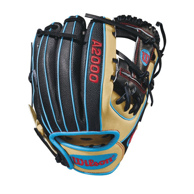 "Wilson A2000 DP15 11.5"" SuperSkin Baseball Glove: WTA20RB18DP15SS"