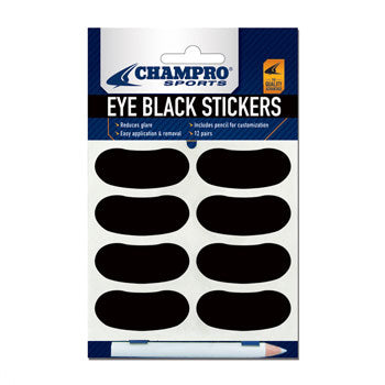 Champro Sports Eye Black Stickers: A032