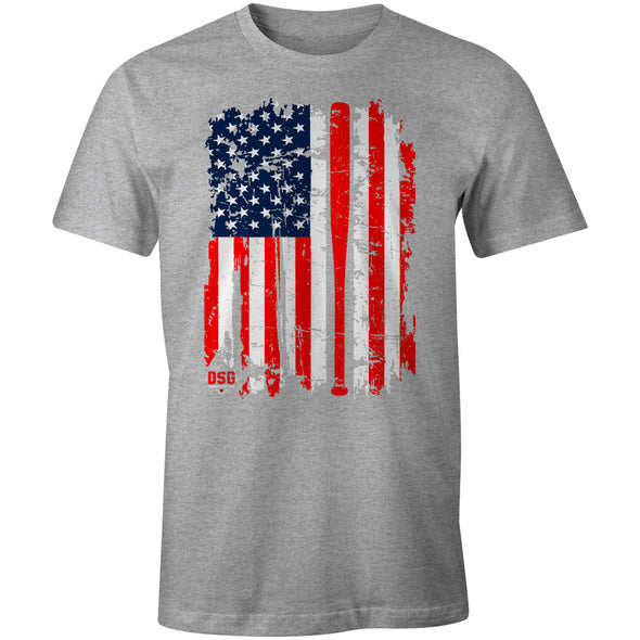 DSG Apparel America's Pastime T-Shirt: GD-USA