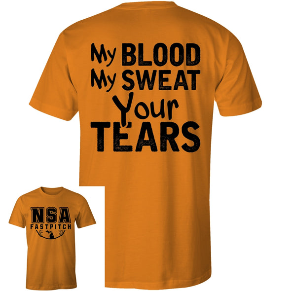 DSG Apparel Blood Sweat Tears T-Shirt: GD-BST
