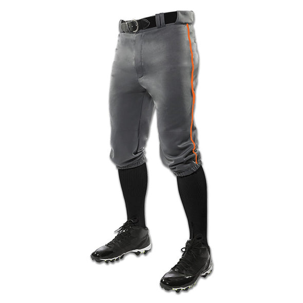 Champro Sports Adult Triple Crown Custom Knicker Baseball Pants with Piping: BP10A-C