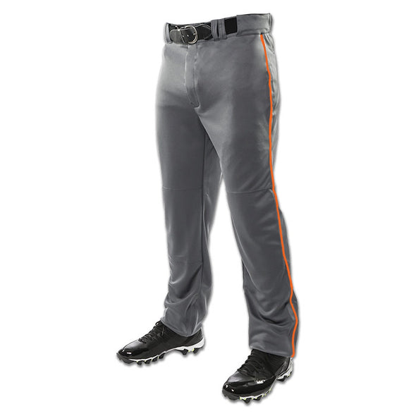 Champro Sports Youth Triple Crown Custom Open Bottom Baseball Pants with Piping: BP9UY-C