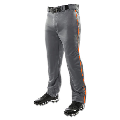 Champro Sports Adult Triple Crown Custom Open Bottom Baseball Pants with Piping: BP9UA-C