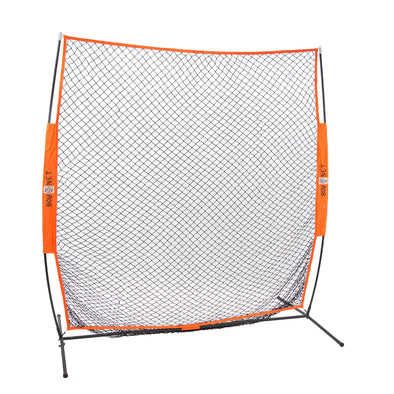 Bownet 7' x 7' Soft Toss Training Net: BOWST