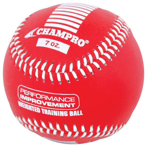 Champro Sports Weighted Training Baseballs: CBB707-CBB712