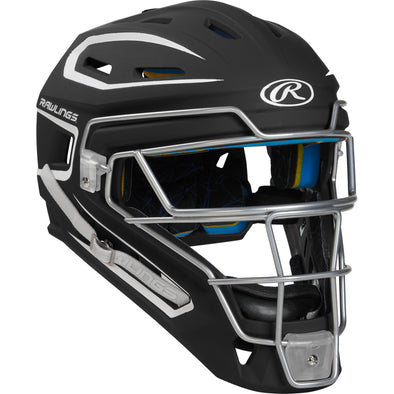 Rawlings Mach Two Tone Hockey Style Catcher's Helmet: CHMACH