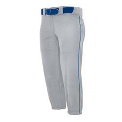 Champro Sports Girl's Low Rise Fastpitch Softball Pants with Piping: BP71Y