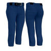 Champro Sports Girl's Low Rise Fastpitch Softball Pants: BP7Y