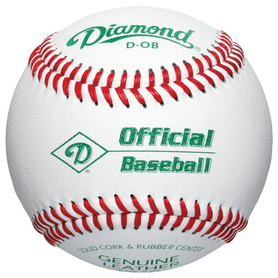 Diamond D-OB Official League Baseballs (Dozen): D-OB