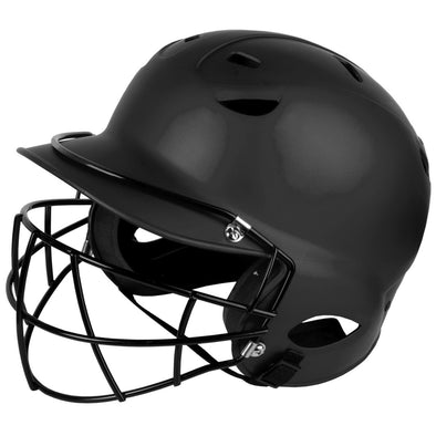 Diamond Matte Batting Helmet with Mask: DBH-97M WFG