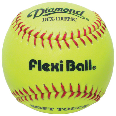 "Diamond FlexiBall 11"" Synthetic Fastpitch Softballs: DFX-11RFPSC"