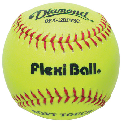 "Diamond FlexiBall 12"" Synthetic Fastpitch Softballs: DFX-12RFPSC"