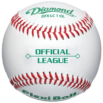 Diamond LC1 FlexiBall Official League Baseballs: DFX-LC1
