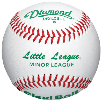 Diamond LC5 FlexiBall Little League Baseballs (Dozen): DFX-LC5 LL