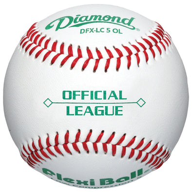 Diamond LC5 FlexiBall Official League Baseballs (Dozen): DFX-LC5