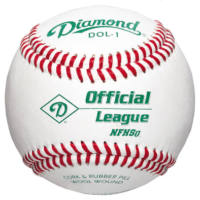 Diamond DOL-1 Official League NFHS Baseballs (Dozen): DOL-1 NFHS