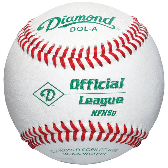 Diamond DOL-A Official League NFHS Baseballs (Dozen): DOL-A