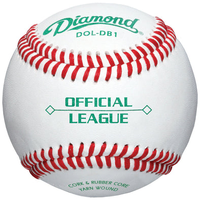 Diamond DB-1 Official League Duracover Baseballs: DOL-DB1
