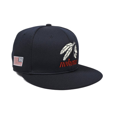 Nokona Indian Head Logo Flex Fit Hat: PTS40C-N-IH