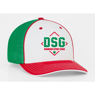 Pacific Headwear CUSTOM DSG Flex Fit Hat: 404M DSG