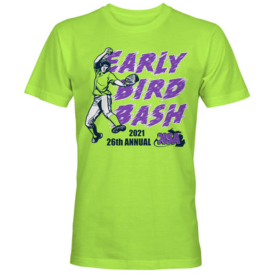 2021 NSA Early Bird Bash Fastpitch Tournament T-Shirt