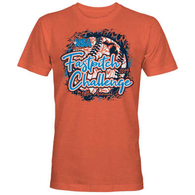 2019 NSA Fastpitch Challenge Fastpitch Tournament T-Shirt