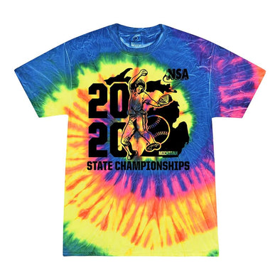 2020 NSA State Championships Fastpitch Tournament T-Shirt