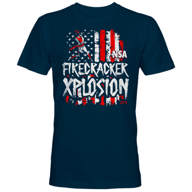 2019 NSA Firecracker Xplosion Fastpitch Tournament T-Shirt