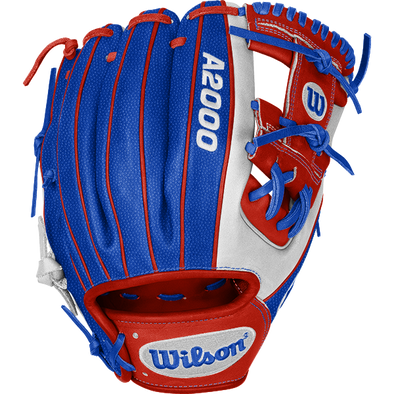 "Wilson A2000 1786 11.5"" USA SuperSkin DSG Exclusive Baseball Glove: WTA20DSGUSA"