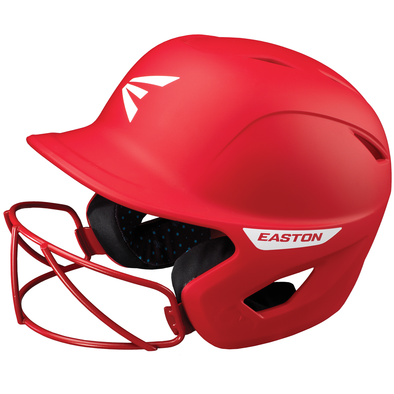 Easton Ghost Matte Solid Batting Helmet with Mask: A168552 / A168553