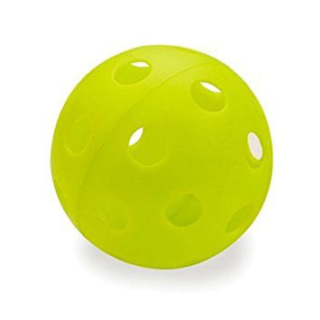 "Athletic Specialties 12"" Heavy Duty Neon Wiffle Balls (Dozen with Mesh Bag): HDS84"