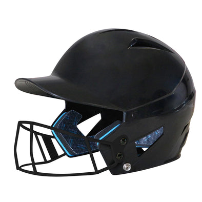 Champro HX Rookie Batting Helmet with Fastpitch Mask: HXFPU
