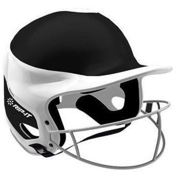 Rip It Vision Pro Away Fastpitch Softball Batting Helmet with Mask: VIS