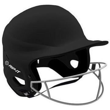 Rip It Vision Youth Matte Fastpitch Softball Batting Helmet with Mask: VISY