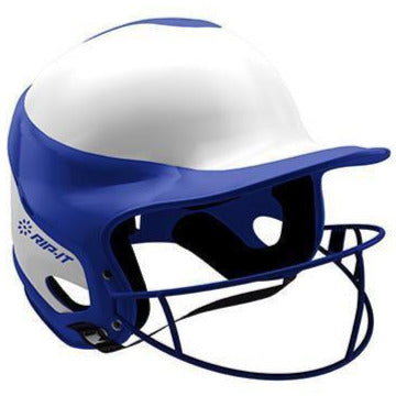 Rip It Vision Pro Home Fastpitch Softball Batting Helmet with Mask: VIS