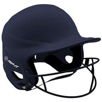 Rip It Vision Pro Matte Fastpitch Softball Batting Helmet with Mask: VIS