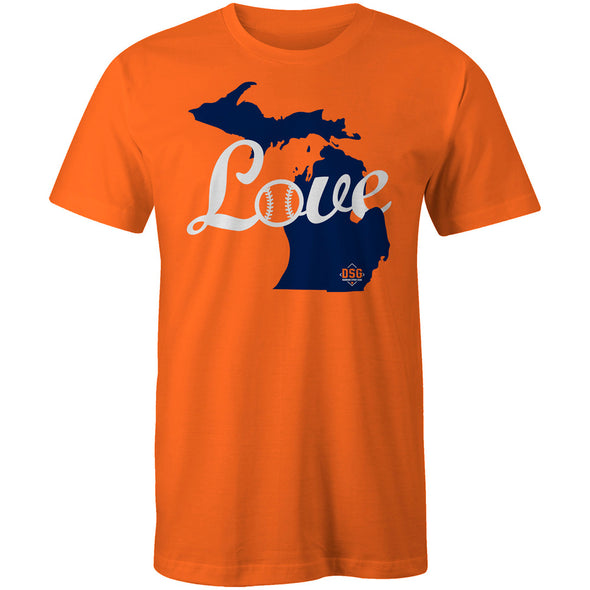 DSG Apparel Love (Michigan) T-Shirt: GD-LOVE-MI