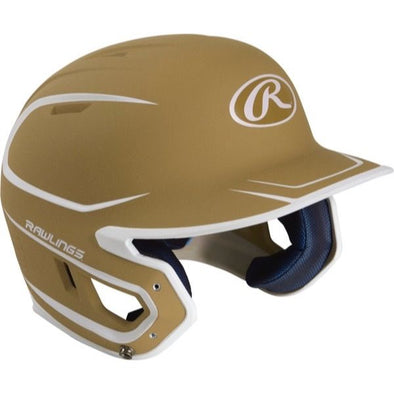 Rawlings Mach Two Tone Matte Batting Helmet: MACH2