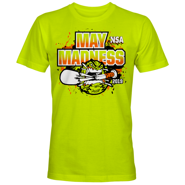 2019 NSA May Madness Fastpitch Tournament T-Shirt