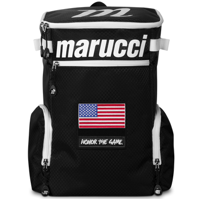 Marucci Badge Bat Pack Backpack: MBBDGYBP