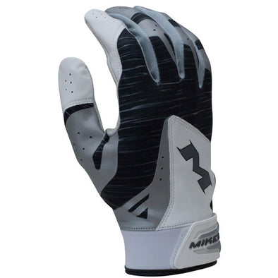 Miken Pro Adult Batting Gloves: MBGL18-BLK