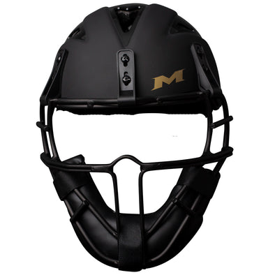 Miken Gold Limited Edition Softball Pitcher's Mask: MGLDPH