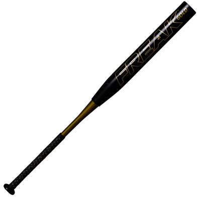 2020 Miken Freak Gold Limited Edition Maxload NSA / USSSA Slowpitch Softball Bat: MGOLDU