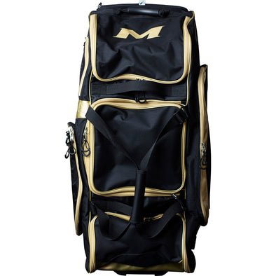 Miken Gold Limited Edition Championship Wheeled Player Bag: MKBG18-CH-GLD