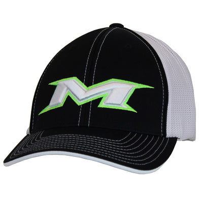 Miken Mesh Trucker Flex Fit Hat: MTRUCK-5WG